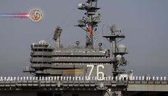 Porta-aviões USS Ronald Reagan sofre avarias no Japão. O porta-aviões nuclear da Marinha dos EUA, USS Ronald Reagan, não pode sair da base naval de Yokosuka