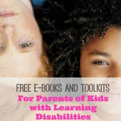 learning disabilities http://www.kludgymom.com/6-learning-disability-resources/