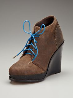 THESE! Found at last. But if only they had my size... (Odval Desert Wedge II Bootie by Rag and Bone on Gilt.com)