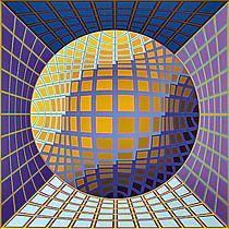 Dauve by Victor Vasarely