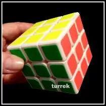 Cubo Mágico Moyu Weilong Branco 3x3 57mm Profissional Speed