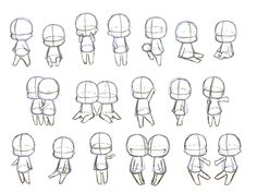 Chibi Drawing Reference and Sketches for ArtistsYou can find Chibi and more on our website.Chibi Drawing Reference and Sketches for Artists Body Drawing, Drawing Base, Manga Drawing, Drawing Sketches, Chibi Drawing, Figure Drawing, Kawaii Drawings, Cartoon Drawings, Cute Drawings