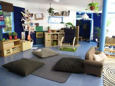 We have purposeful spaces Preschool Classroom Layout, Preschool Decor, Primary Classroom, Classroom Design, Classroom Decor, Childcare Environments, Childcare Rooms, Learning Environments, Reggio Emilia Classroom