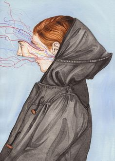 Gorgeous abstract portraits by New Zealand artist Henrietta Harris. More illustrations via InspireFirst Art And Illustration, Arte Inspo, Kunst Inspo, Kunst Online, Psy Art, A Level Art, Painting Gallery, Abstract Portrait, Surreal Art