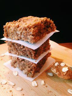 flourless cinnamon oat bars