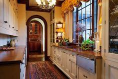 Sagee Manor butler's pantry