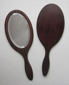 Rosewood Handheld Mirror