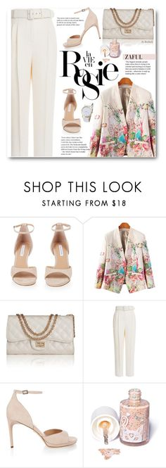 """""""Spring Pastel"""" by beebeely-look ❤ liked on Polyvore featuring Diane Von Furstenberg, Emilia Wickstead, Whiteley, Sugarpill, StreetStyle, floralprint, pastels, springfashion and zaful"""