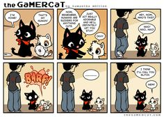 Nailed It (I'm totally naming my next cat glitch) #thegamercat #geek #kitten