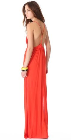 love the back on this maxi