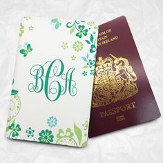 Personalised Custom Name Passport Cover Passport Holder with FREE Name Printing (BBS026) Wedding Gift Personalized Gift Traveller Gift