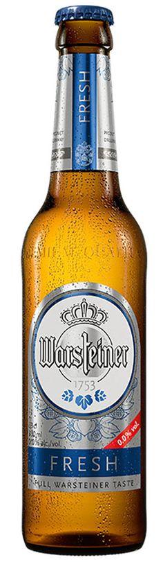 Warsteiner Premium Fresh 0,0 - Gregorio Díez – Distribuidor de bebidas para hostelería en Valladolid