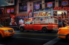 FDNY EMS Oil Painting by ReburnDesigns on Etsy