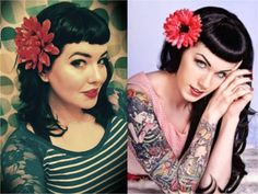 obsessed with bettie bangs!