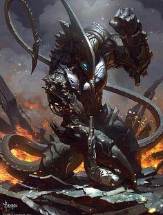 The Destroyer of Worlds demigod