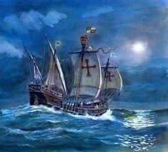 La carabela San Lesmes, perdida en el Pacífico