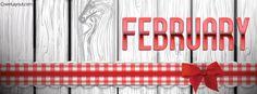 February Facebook Cover coverlayout.com
