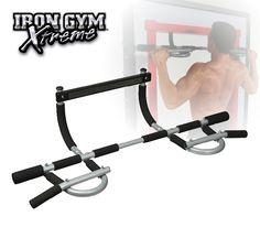 Iron Gym XTREME+ is een instelbare versie van de geavanceerde IRON GYM XTREME workout bar. Verstelbare constructie maakt het mogelijk de training bar in een standaard kozijn te monteren, wanddikte is niet meer een probleem voor uw thuis training!
