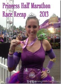 runDisney Princess half race recap 2013, with a PR!