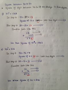High Speed Vedic Mathematics is a super fast way of calculation whereby you can do supposedly complex calculations like 998 x 997 in less than five seconds flat. This makes it the World's Fastest Mental Math Method. Math Questions, Trick Questions, Math Tutor, Teaching Math, Preschool Math, Teaching Tips, Maths Solutions, Math Notes, Math Formulas