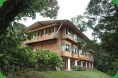 Loved sliding in my socks on the smooth wood floors - Trapp Family Lodge, Costa Rica