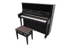 Grand piano stock photo