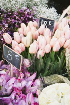 Parisian flowers, by Katie Mitchell Photography