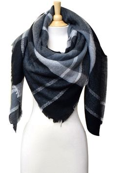 OBSESSED with this new Black Blanket Scarf!!  Order it today with FREE SHIPPING at http://wildtyboutique.com/products/black-blanket-scarf?utm_campaign=social_autopilot&utm_source=pin&utm_medium=pin