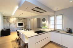 Kleine Küche mit Kochinsel - 5 grandiose Ideen! (von Isabel Herwig)