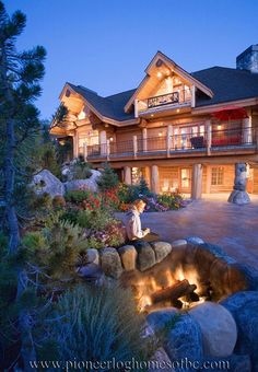 The casa grande plan 156879 materials only 3293 sq ft 3br 25ba pioneer log homes of bc publicscrutiny Image collections