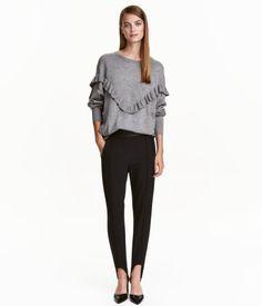 Stirrup Pants   Black   Ladies   H&M US