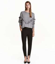 Stirrup Pants | Black | Ladies | H&M US