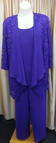 Pant Suit 17 | Isabella Fashions | Mother of the bride dresses, plus sizes, and evening wear