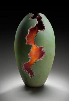 Artist: Robert Coby Title: Lava Flow Studio Location: Cleveland, Ohio