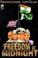 Freedom at Midnight by Dominique Lapierre and Larry Collins--This book primarily focuses on India's independence movement during 1946 and 1948.