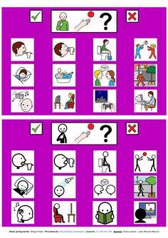 Recopilacion de tableros de comunicacion 12 casillas, con pictogramas de ARASAAC