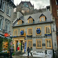 You don't have to dig very deep to become convinced that Quebec City is the most romantic city in North America. Photo courtesy of hecktictravels on Instagram.