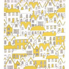 Village Wallpaper - Green at Homebase -- Be inspired and make your house a home. Buy now.