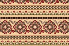 Set of Border Patterns by Sunny_Lion on @creativemarket