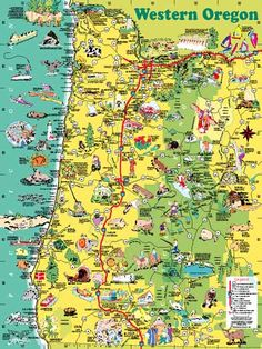 12 Best pictorial maps by Carol Mendel images   Pictorial ...