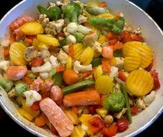 Naleśniki zapiekane z mięsem i warzywami - Blog z apetytem Cobb Salad, Blog