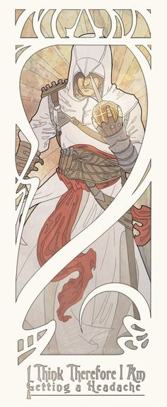 Assassins Creed characters portraits by S. Strand