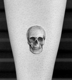 Tiny Skull Tattoo