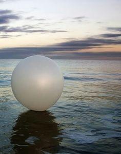 The Prisoner TV show in 50's #theprisoner. Still the strangest, creepiest thing-- that big, white ball!