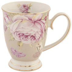 Tasse,Kaffetasse,Teetasse mit Henkel * Rosen * von Clayre & Eef: Amazon.de: Küche & Haushalt