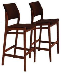 Danish Modern Teak Bar Stools - A Pair on Chairish.com Danish Modern, Home Kitchens, Bar Stools, Teak, Furniture, Kitchen Stuff, Design, Home Decor, Mexico
