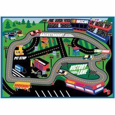 NASCAR Play Rug