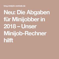 abgaben für gewerbliche minijobs 2021
