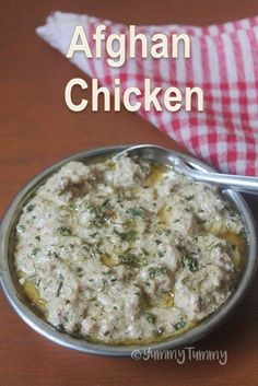 Afghan Chicken Recipe - How to Make Afghani Chicken at Home veg recipes Afghan Food Recipes, Veg Recipes, Curry Recipes, Vegetarian Recipes, Cooking Recipes, Cooking Beef, Prawn Recipes, Cooking Fish, Fast Recipes