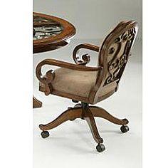 CR Joseph Swivel Tilt Adjustable Height Caster Dining Chair ...